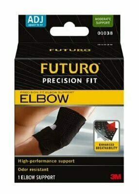 Futuro Precision Fit Elbow Support, Adjust to Fit, Moderate Support