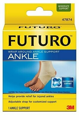 Futuro Wrap Around Ankle Support, Small, Moderate Support