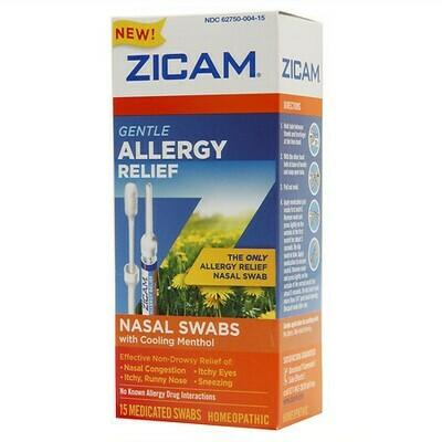 Zicam Gentle Allergy Relief Nasal Swabs, 15 ct.