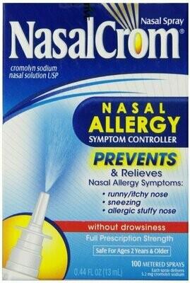 NasalCrom Allergy Relief Nasal Spray, .44 oz