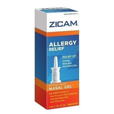Zicam Allergy Relief, Homeopathic Nasal Solution 0.5 fl oz