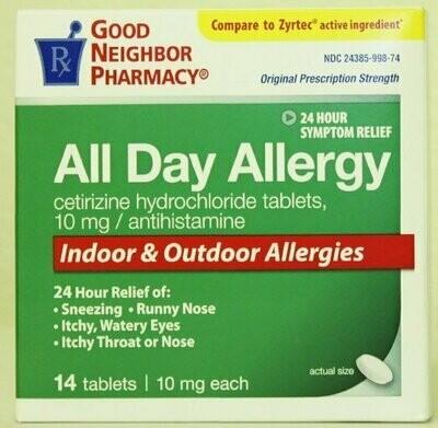 Good Neighbor Pharmacy All Day Allergy (10mg, 14 Tablets)