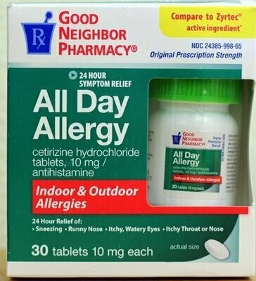 GNP All Day Allergy (30 Tablets)