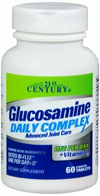 GLUCOSAMINE DAILY COMPLEX +D TAB 60CT