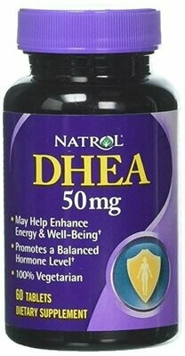 Natrol DHEA -- 50 mg - 60 Tablets