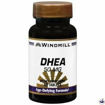 Dhea 50 Mg 50 Tablets Windmill
