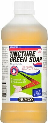 GREEN SOAP USP 16OZ HUMCO