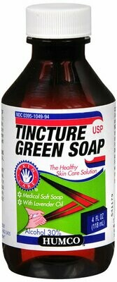 GREEN SOAP USP 4OZ HUMCO