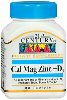 CAL MAG ZINC +D3