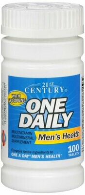 ONE DAILY MEN TABLET 100CT