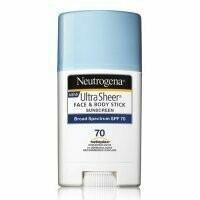 Neutrogena Ultra Sheer Face And Body Spf 70 Sunscreen Stick - 1.5 Oz