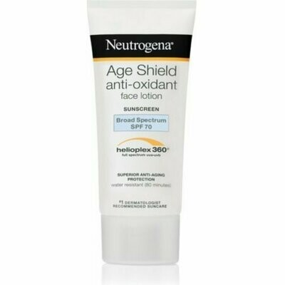 Neutrogena Age Shield Face Sunscreen SPF 70 3 oz