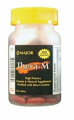 Major Thera-M 130 Tablets