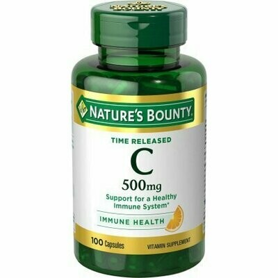 Nature's Bounty Time Release Vitamin C, 500 Mg 100 count