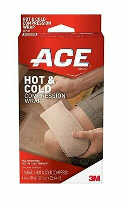 Ace Knitted Cold/Hot Compress Wrap, Reusable