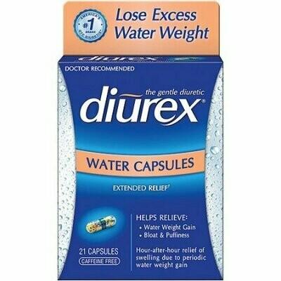 DIUREX Water Caps 21ct