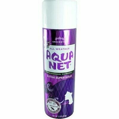Aqua Net Extra Super Hold Professional Hair Spray Unscented 11 oz
