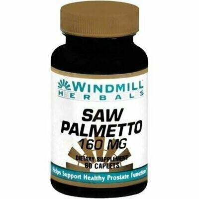 Windmill Herbals Saw Palmetto 160 Mg 60 Caplets
