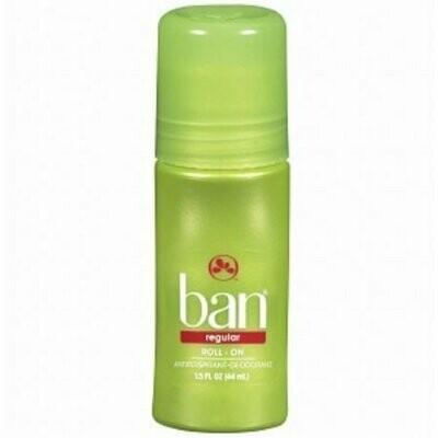 Ban Original Roll-On Antiperspirant and Deodorant, Regular 1.5 oz