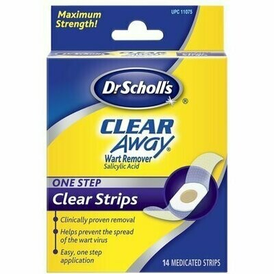 SCHOLLS CLEAR AWAY 1-STEP KIT 14CT