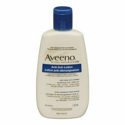 AVEENO LOTION ANTI-ITCH CONCENTRATED 4OZ