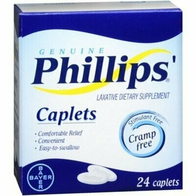 Phillips' Laxative 24 Caplets