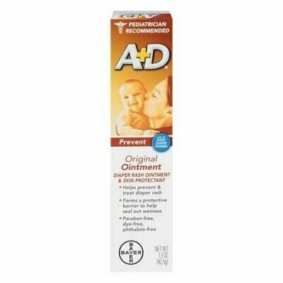 A & D Diaper Rash And Skin Protectant Original Ointment, 1.5 Oz
