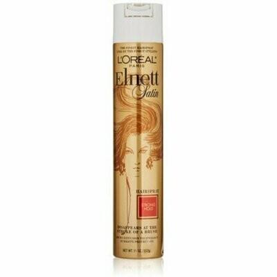 L'Oreal Elnett Satin Hairspray Strong Hold 11 oz
