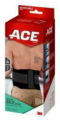 ACE(TM) Back Brace, One Size Adjustable