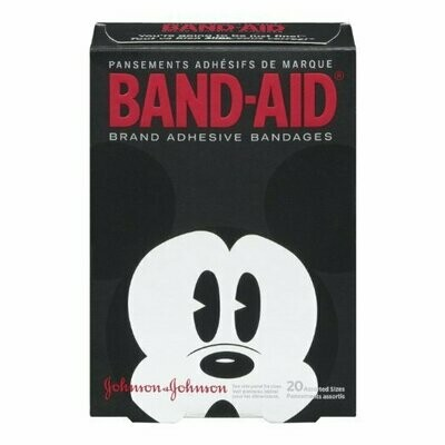 Band-Aid Decorative Adhesive Bandages, Disney's Mickey Mouse, 20 Count