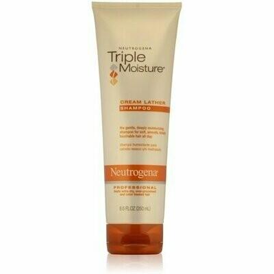 Neutrogena Triple Moisture Cream Lather Shampoo 8.50 oz