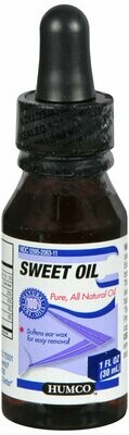 HUMCO SWEET OIL WITH DROPPER 1OZ