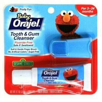 Baby Orajel Tooth & Gum Cleanser Mixed Fruit 0.70 oz