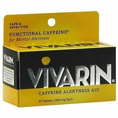Vivarin Caffeine Alertness Aid, Tablets 40 each