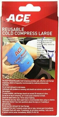 ACE Reusable Cold Compress, Large