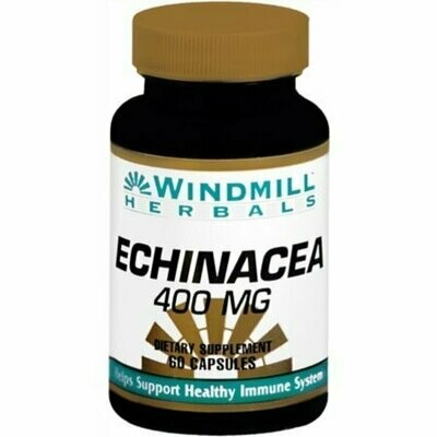 Windmill Herbals Echinacea 400 mg 60 Capsules
