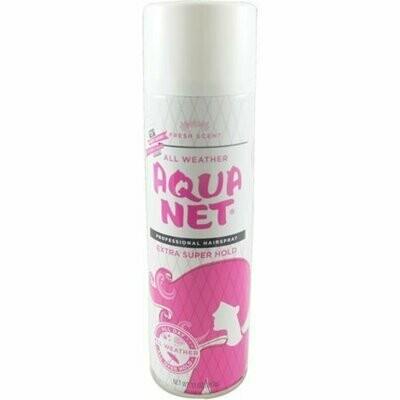 Aqua Net Professional Hair Spray Extra Super Hold Fresh Fragrance 11 oz