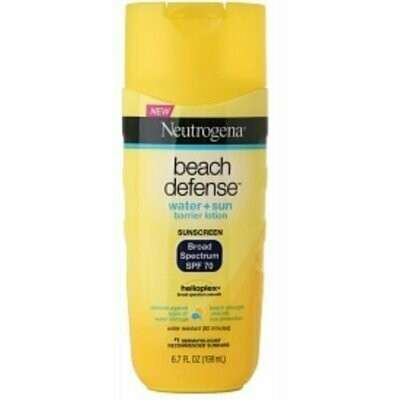 Neutrogena Beach Defense SPF 70 Lotion 6.7 oz