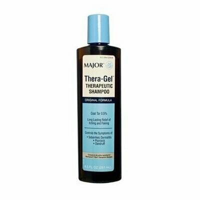 Major Thera-Gel Shampoo Coal Tar-1 % Brown 251 ML