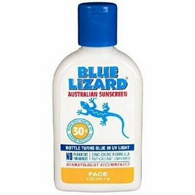 Blue Lizard Australian Sunscreen SPF 30+, Face 5 oz