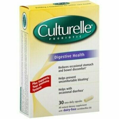 Culturelle Probiotic Digestive Health 30 Capsules