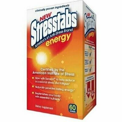 Stresstabs Energy Tablets 60 ea