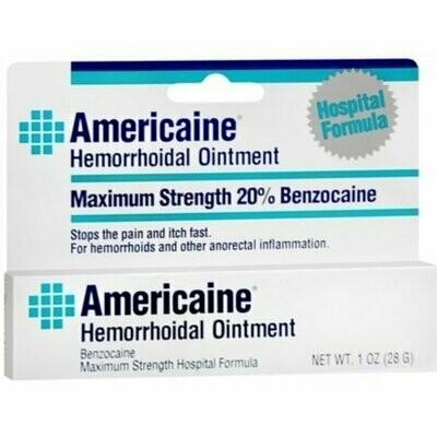 Americaine Hemorrhoidal Ointment 1 oz