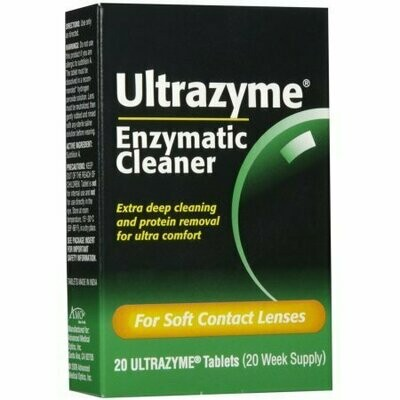 Ultrazyme Enzymatic Cleaner Tablets 20 tabs