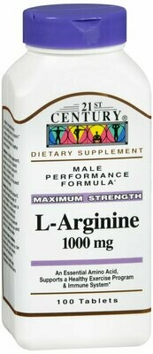 L-ARGININE 1000MG TABLET 100CT