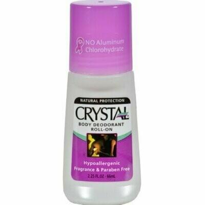 Crystal Body Deodorant Roll-On 2.25 oz