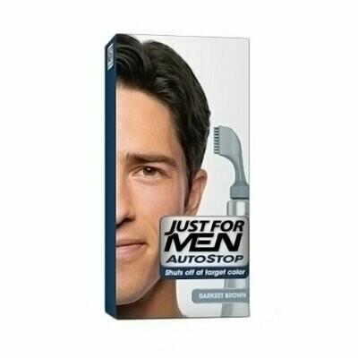 Just For Men Autostop Foolproof Hair Color Kit, Darkest Brown