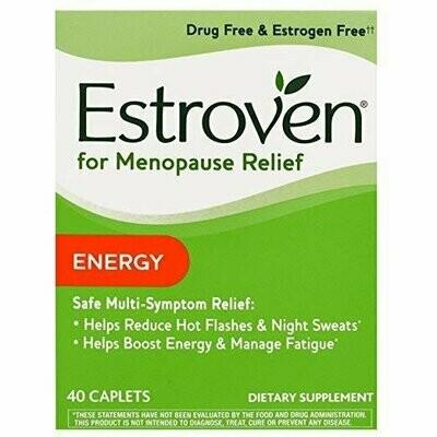 Estroven plus Energy 40 Caplets by I-Health, Inc