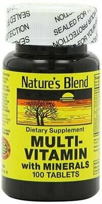 Multi-Vitamin with Minerals 100 Tabs