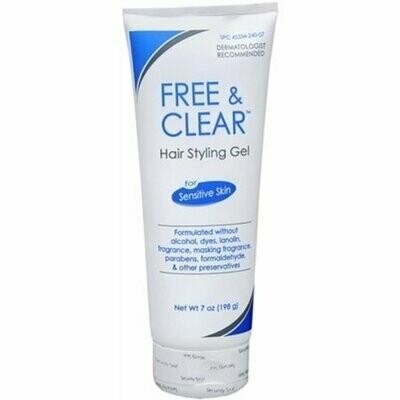 Free & Clear Hair Styling Gel 7 oz
